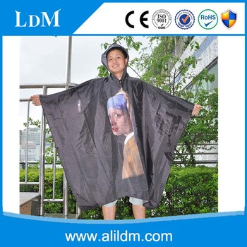 factory price for pvc logo rain poncho/custom logo rain poncho