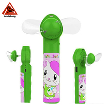 perfume mini fan cartoon cute with power bank 1200mah mute