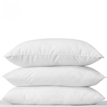 Comfort White Duck Down and Feather Pillow for Economic hotels used