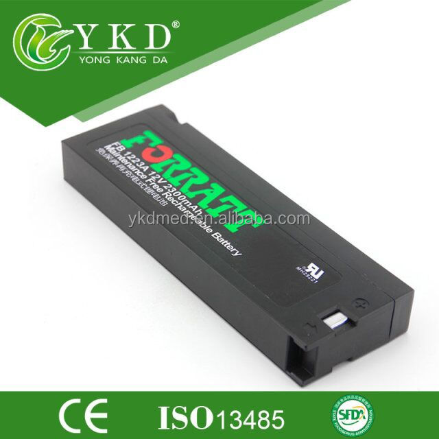 Medical rechargeable replacement battery for FORBATT replacement battery fb1223 12v 2300mah battery FB 1223 for PM9000