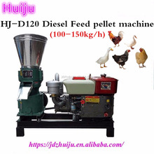 60-80kg per hour diesel animal feed pellet mill machine for poultry chicken duck rabbit feed