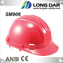 CE EN397 approved High Density industrial polypropylene shell Safety Helmet