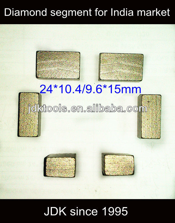 Hot Hot Sale Diamond Segment For India Tan Brown Granite Stone Cutting