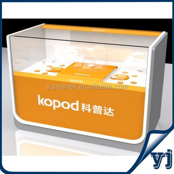 China manufacture cell phone display case/ display rack