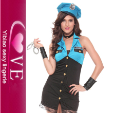 Sex Hot Police Costume Cosplay Fantasia Women's Halloween Sheriff Dress Women Cops Costumes