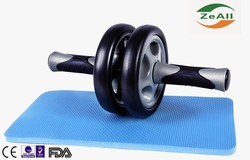 New AB wheel/roller abdominal exerciser