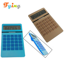 high quality 10 digits aluminium panel desktop calculator