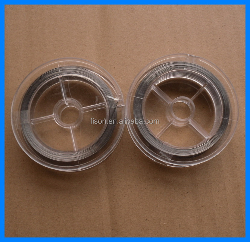 0.8X0.05mm Nichrome resistance flat heating wire for sale