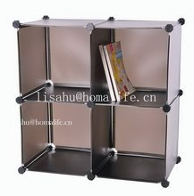 Decorative plastic storage box with interlock lid for home