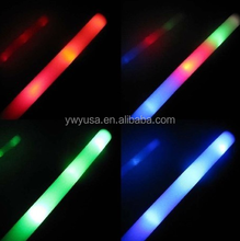China alibaba hot sell light up led flashing foam sticks