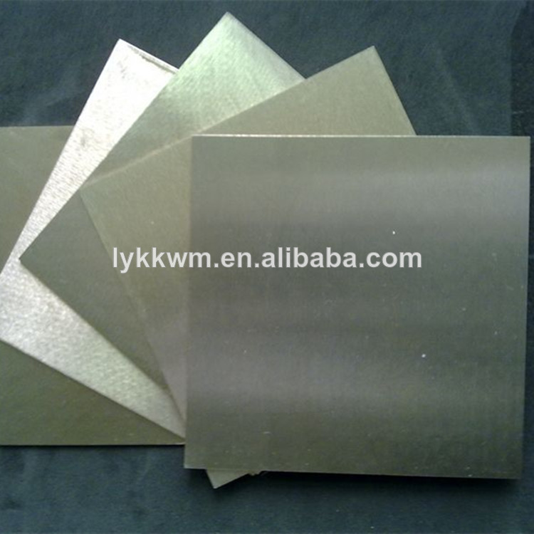 thin metal tungsten sheet/plate