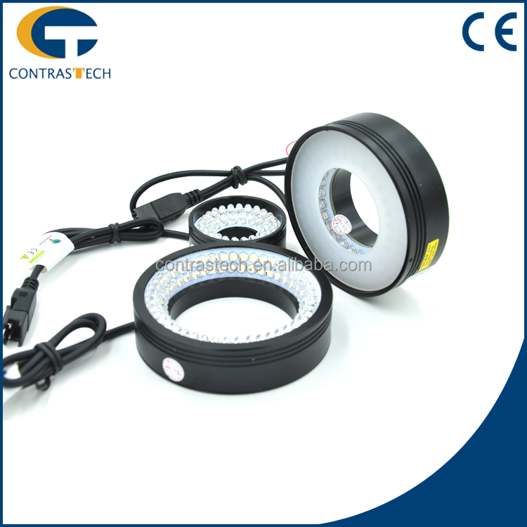 LT2-HR4218 High Unformity Ring Fluorescent High Angle LED Lights For Machine Vision