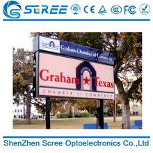 wholesale big 6 digit 7 segment 12 inch smd p4 outdoor led display