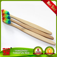 Private label biodegradable wholesale bamboo mini travel set toothbrush