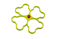 multi-function mouse head shape silicone hot egg ring pot mat dish coaster