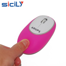 computer gift gel mouse 2.4Ghz anti-stress soft silicon wireless mouse