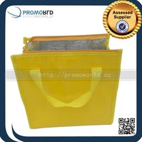 Polyester Aluminium Cooler Bag Hot Cold Tote Thermal Bags