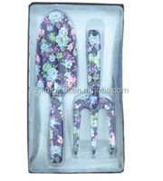 gift items 2pcs garden tools set,gardening tool,printing flowers shovel