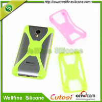 Elastic high quality silicone cover for any mobile phone