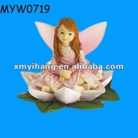 new fashion high end resin collection cheap resin children garden statues