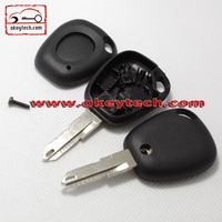 High Quatity Renault transponder chip key case for 1 button no logo 206 blankfor Renault Scenic Clio Car Key romote key shell