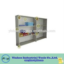 Warehouse Metal Multi-layer Display Storage book Rack/Shelf