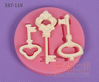 silicone key mold,fondant key mold,chocolate decorating tools