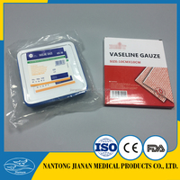 Certificate Approved Medical Sterile Paraffin Gauze