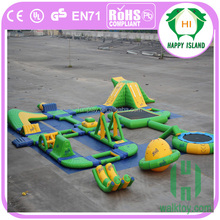 Giant inflatable water park/Summer games for adult/used water park slides for sale
