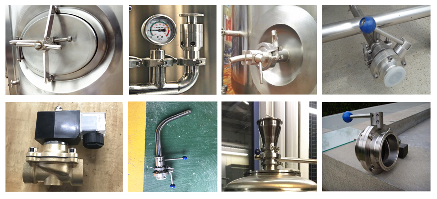 conical fermentation tank 1000l with 3bar fermenter size and parts
