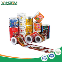 Cheap china wholesale Customized Hot Printed wrapping plastic packaging roll film,printing food grade material film roll