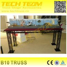 Lighting exhibition booth stand decorative truss