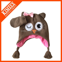 Manufacture Custom Cute Knitted Beanie winter hats for kids