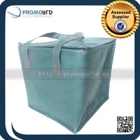 Travel Insulated Aluminium Foil Cooler Bags With Double Handle