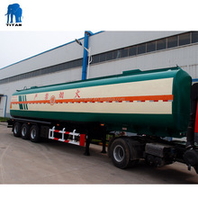 Light Tare Weight 3 Axles 40000 Liters Oil Tanker Trailer For Sale