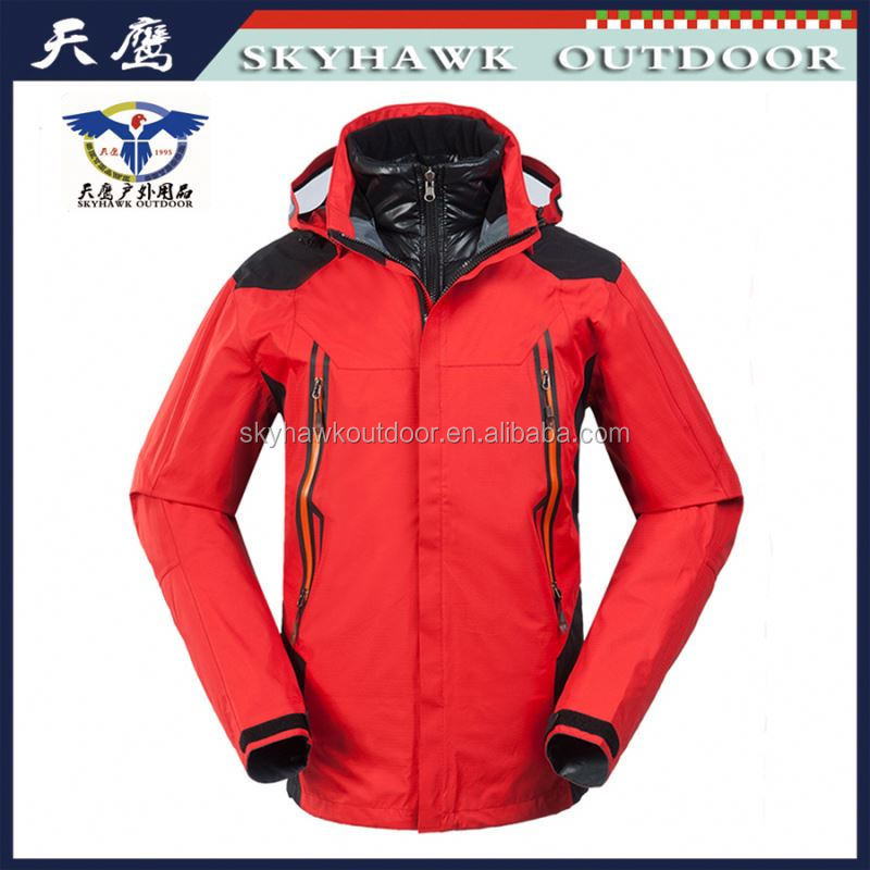 Contemporary outdoor freezer men jacket