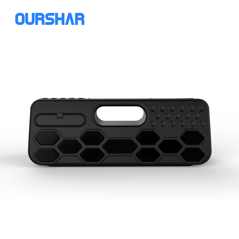 Pure sound high quality bluetooth speaker V4.2 10 hours large battery IP55 wireless speaker