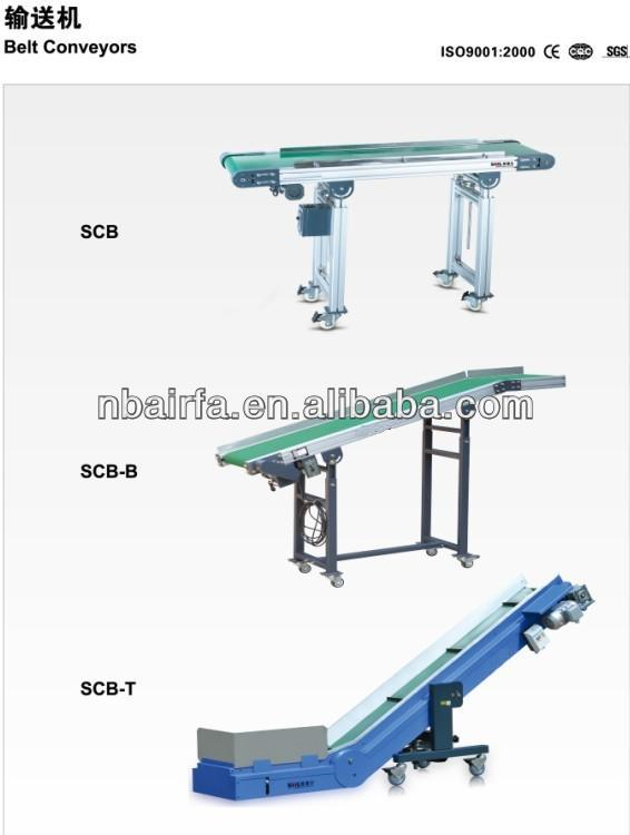 Belt Conveyor for Plastic Injection Molding Machinery