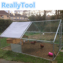 Factory Sale Metal Chicken Run Coop Run For Cat Rabbit Ducks Hens-4M X 3M