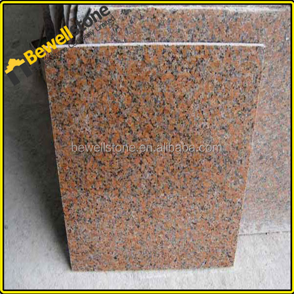 Wholesale g562 red granite kitchen wall stone tile