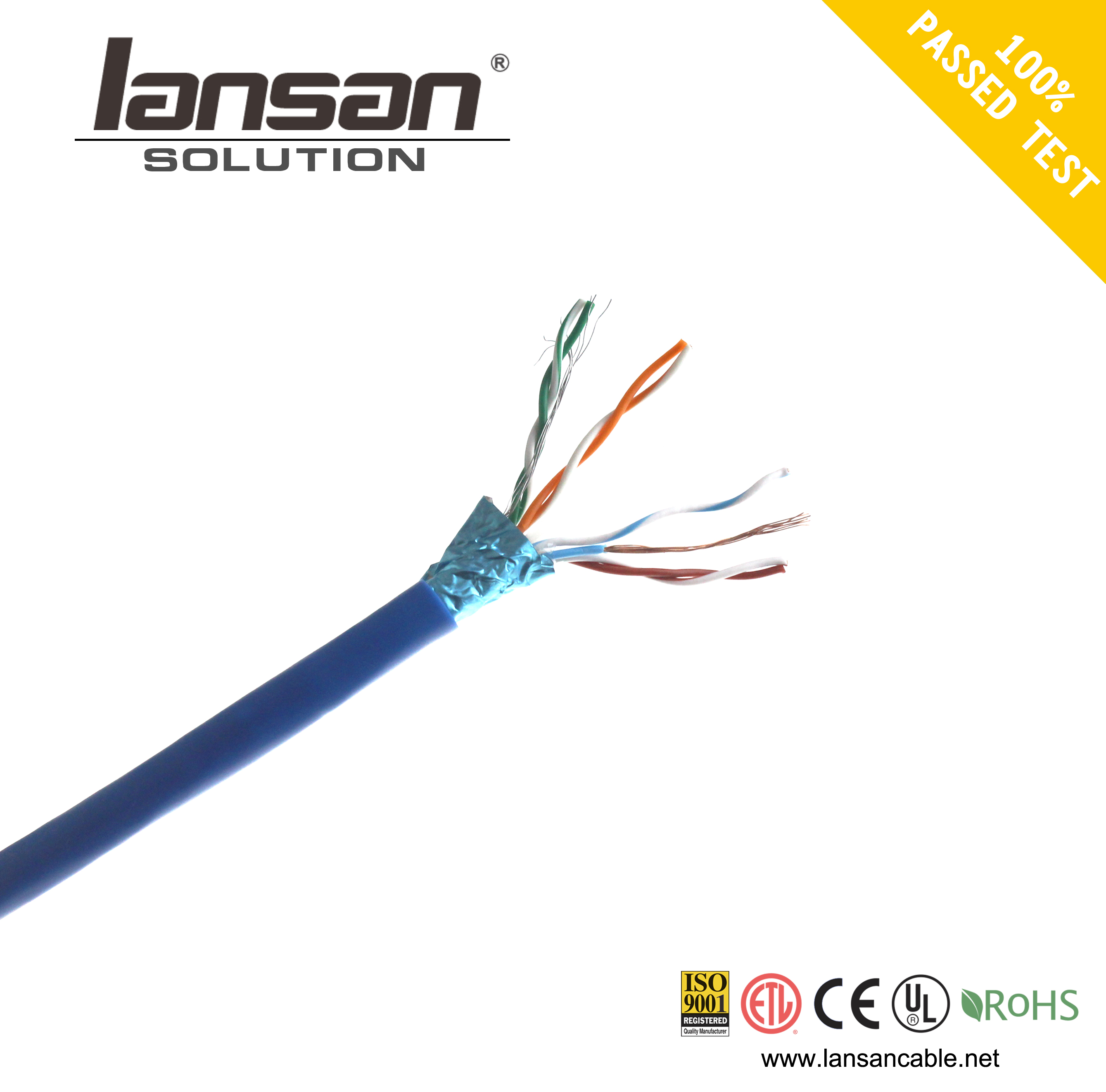 China cheap Best Utp Ftp Sftp Cat5e Cat6a Cat7 Patch Cord from Shenzhen