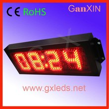 red outdoor my alibaba express digital led metal wall clock