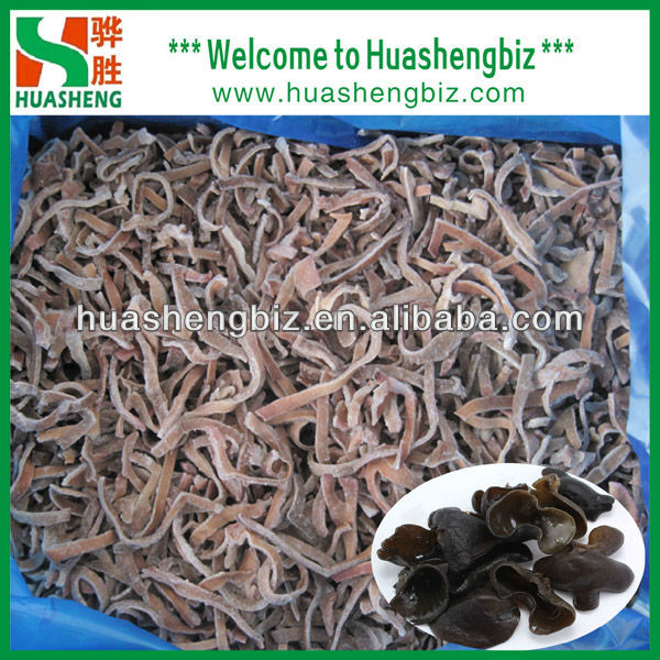 IQF Frozen Black Tree Fungus Strips