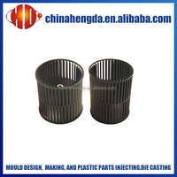 plastic injection air conditioner fan blade mould