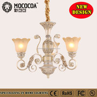 American wrought iron chandelier, classical pendant lamp