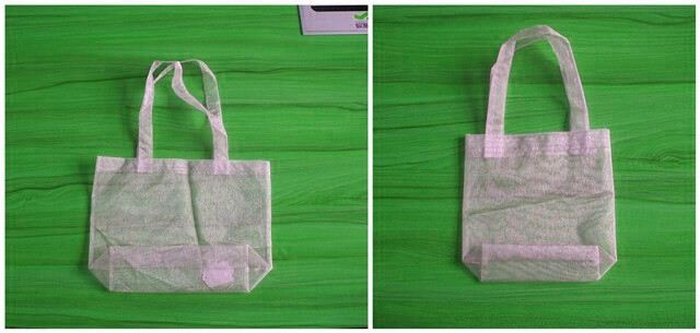 crystal organza pouch/decorative sachet bags
