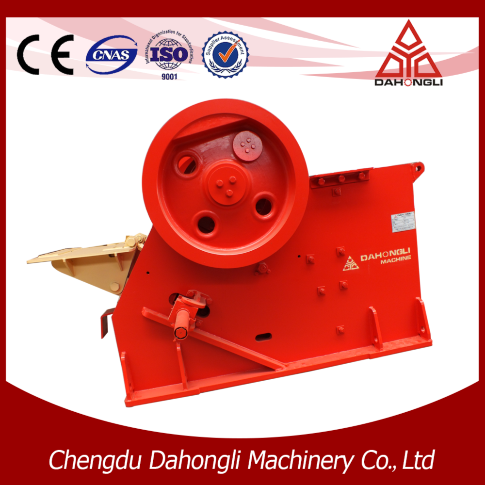 Large capacity mine machinery primary jaw crusher