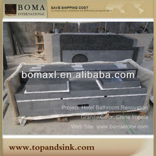 Chinese Cheap Granite Vanity Top With Vessel Sink