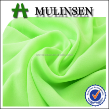 Mulinsen Textile High Density Plain Dyed 75D Georgette Double Chiffon Fabric Characteristics