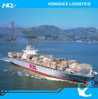 international freight forwarder sea freight shipping china to Mexico